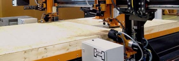 Wood nailing machinery