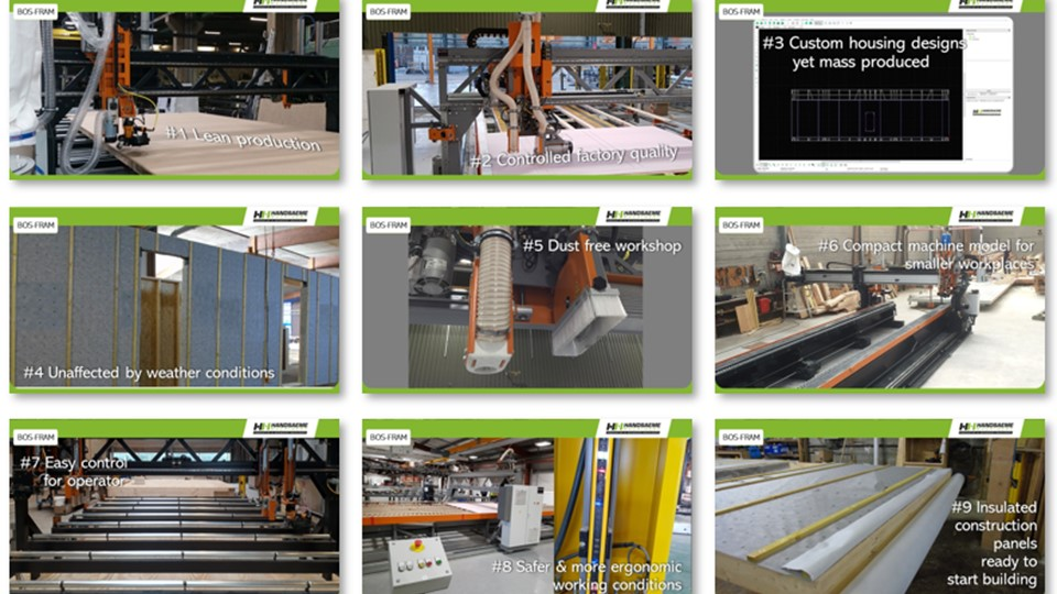 9 reasons to choose our BOS-FRAM machine for modular construction