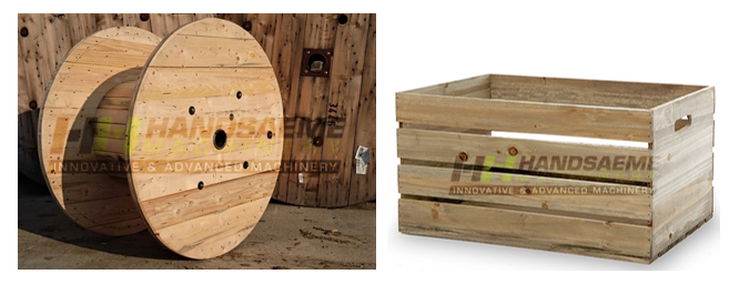 Cable reels / wine boxes